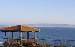 Evening at Cliff Gazebo Royalty Free Stock Photo