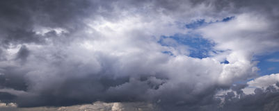 Evening cloudscape. Royalty Free Stock Photo