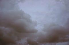 Evening cloudy sky. A photo of evening cloudy sky on sunset stock photos