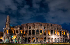 Evening Coliseum. Italy, Rome, the Colosseum in the evening light Stock Image