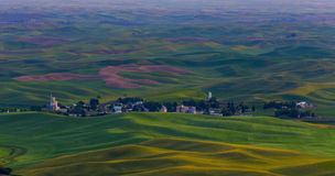 Evening Comes To Step Toe In The Palouse Hills Royalty Free Stock Images