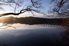 Evening on Coniston Royalty Free Stock Photography