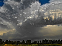 Evening Convection Royalty Free Stock Photo
