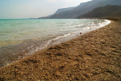 Evening at the Dead Sea Royalty Free Stock Photography