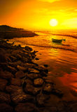 Evening at Digha Stock Photography