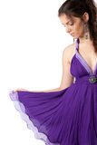 Evening dress Royalty Free Stock Photos