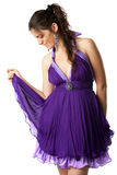 Evening dress Royalty Free Stock Photography