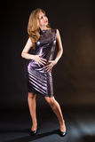 Evening dress Royalty Free Stock Images