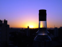 Evening drink Royalty Free Stock Images