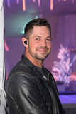 Evening entertainment, MC and singer, Jay du Plessis Stock Photos