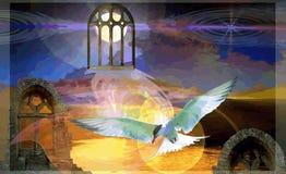 Evening fairy tale Stock Image