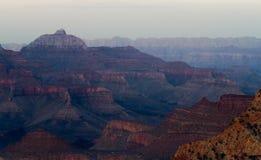 Evening falls on Grand Canyon Royalty Free Stock Photos