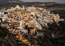 Evening in Fira Stock Photos