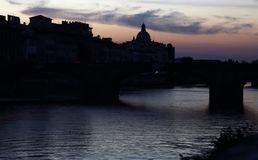 Evening in Florence, Itlay Stock Photos