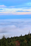 Evening Fog North Carolina Royalty Free Stock Images