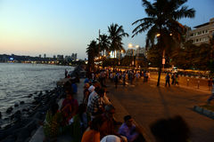 Evening Glory of Mumbai Stock Photo