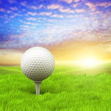 Evening golf Royalty Free Stock Image