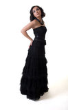 Evening gown Royalty Free Stock Photos