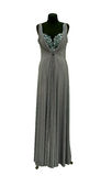 Evening gown on a mannequin Royalty Free Stock Photo