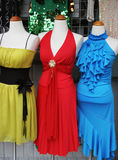 Evening gowns. Royalty Free Stock Photo