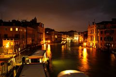 Evening on the Grand Canal Stock Images
