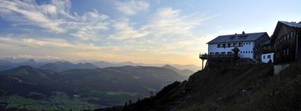 Evening at Grutten Hütte Stock Photography