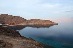 Evening Gulf of Aqaba Royalty Free Stock Photography