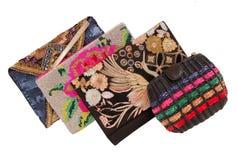 Evening handbags royalty free stock photos