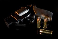 Evening handgun Royalty Free Stock Images