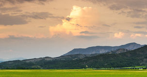 Evening in Haute Provence Royalty Free Stock Photos
