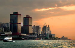 Evening Hong Kong. Stock Image