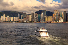 Evening Hong Kong Royalty Free Stock Photo