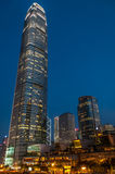 Evening in The Hong Kong Royalty Free Stock Images