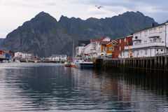 Evening Honningsvaer Royalty Free Stock Images