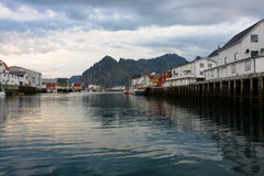 Evening Honningsvaer Royalty Free Stock Image