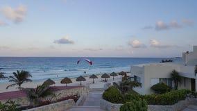 Evening Hours at Caribbean coast resorts Royalty Free Stock Photo