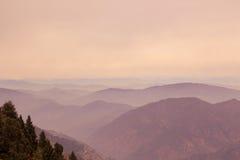 Evening hues at Uttarakhand. Evening hues at Nainital, Uttarakhand royalty free stock photography