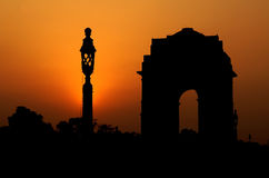 An evening in india gate Stock Image