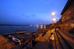 Evening in India Stock Images