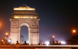 An Evening in Indian Gate Royalty Free Stock Photo