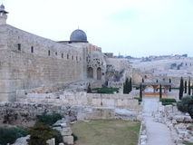 Evening Jerusalem Stock Photography