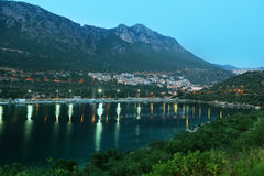 Evening in Kas, Turkey Royalty Free Stock Image