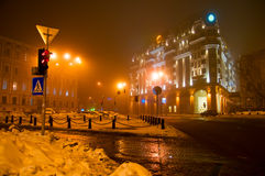 Evening, in Kiev. Royalty Free Stock Photography