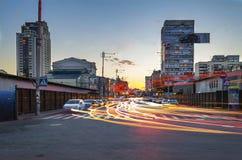 Evening Kiev. Ukraine Royalty Free Stock Image