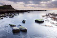 Evening in Kimmeridge Bay Stock Photo