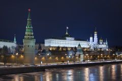 Evening kind to the Kremlin Royalty Free Stock Photos