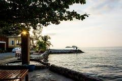 Evening on Klong Prao beach Royalty Free Stock Image