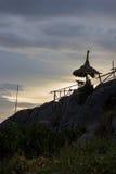 Evening at Koh Sichang,Chonburi,Thailand Royalty Free Stock Photo