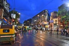 Evening Kolkata Stock Photos