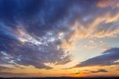 Evening kolory Zdjęcie Stock